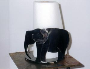 Paper-Towel holder, Elephant