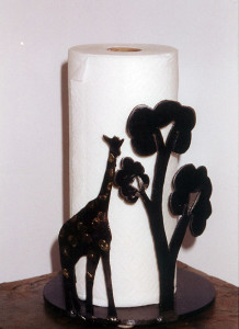 Paper Towel holder, Giraffe