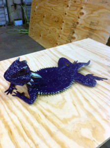 Left Side of Horned Frog